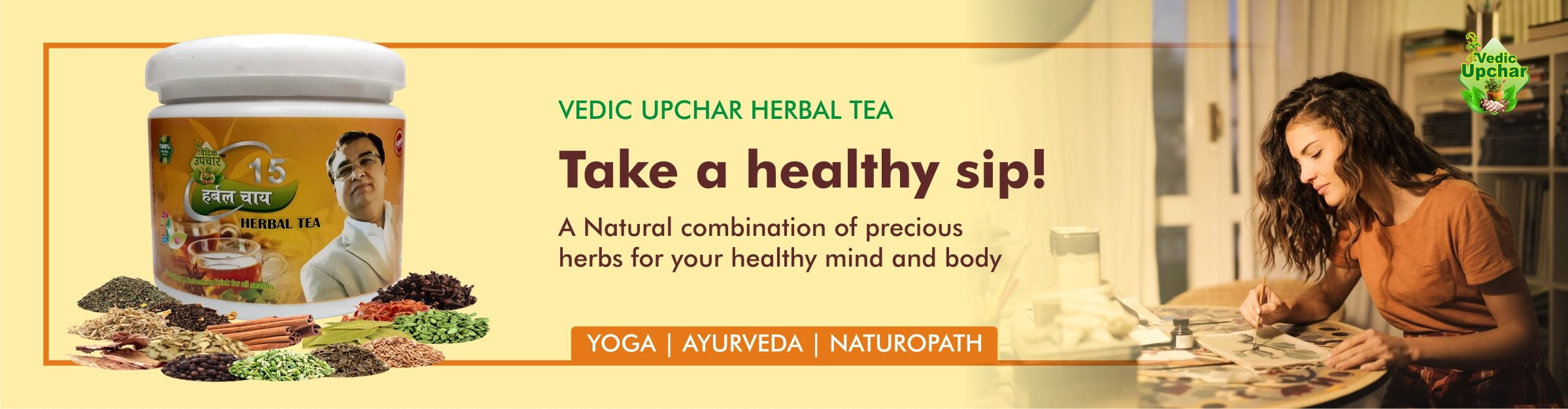 Vedic Upcahr herbal tea - 15