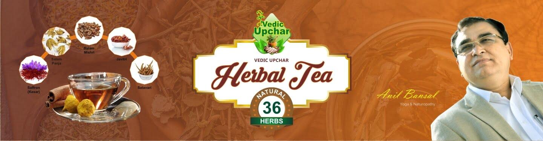 Vedic Upchar Herbal Tea  – 36 Herbs Combination – Best Herbal Tea in India 2021